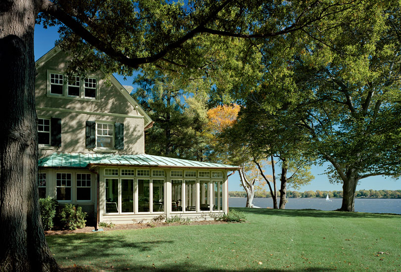 House On The Delaware River Andalusia Pa Kass